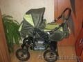 продам  коляску джип-трансформер зеленого цвета