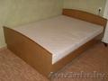 Продам двуспальную кровать с ортопедическим матрацем