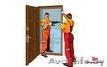 Установка входных дверей в Борисове,  Жодино,  Минске. +375-33-666-00-75
