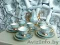 Чайный польский сервиз на 4 персоны в наборе чайник, сахарница, сливочница - Изображение #3, Объявление #1544453