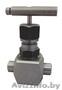 Клапан запорный игольчатый Ду15,  Ру 40МПа,   муфта-муфта(аналог 15с67бк).